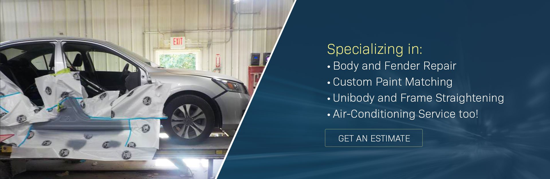 Providing the Best in Auto Collision Repair