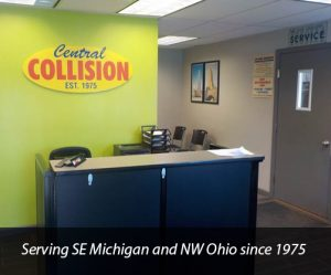 Central Collision body shop