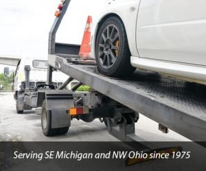 Toledo OH Collision towing